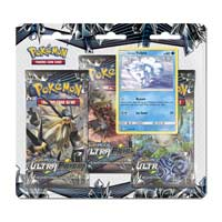 Pokémon TCG: Sun & Moon-Ultra Prism 3 Booster Packs, Coin & Alolan Vulpix Promo Card