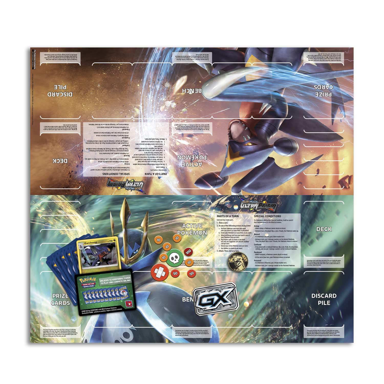 image for pokmon tcg sun moon ultra prism mach strike theme deck from - Pokemon Carchacrok