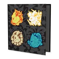 Image for Faces of Eevee D-Ring Binder - 1 In. from Pokemon Center