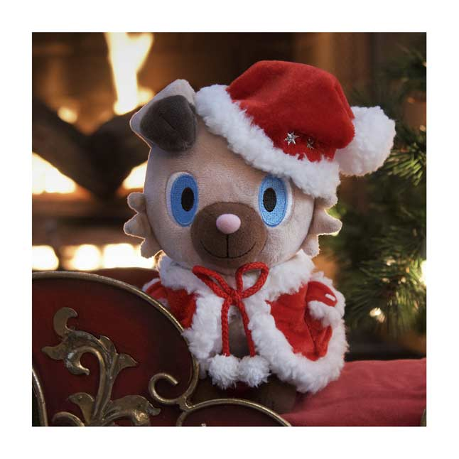 Image for Holiday Rockruff Poké Plush - 7 1/2 In. from Pokemon Center