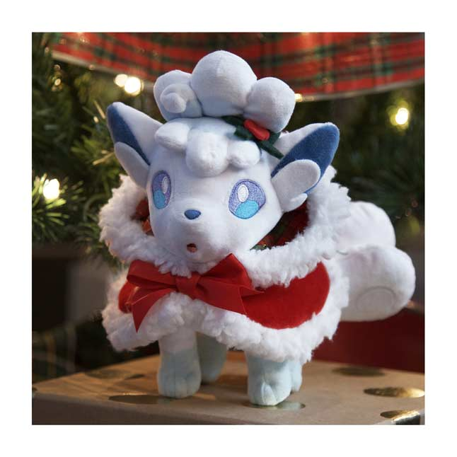 Image for Holiday Alolan Vulpix Poké Plush - 7 1/4 In. from Pokemon Center