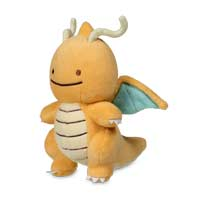 Ditto As Dragonite Plush - 5 In.