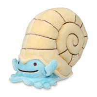 Ditto As Omanyte Plush - 5 1/4 In.