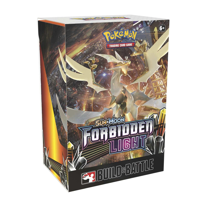 Pokémon TCG: Sun & Moon—Forbidden Light Build & Battle Box