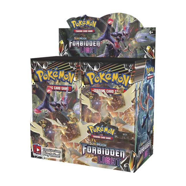 new Pokemon sun and moon Forbidden Light booster packs 2 Holos Included
