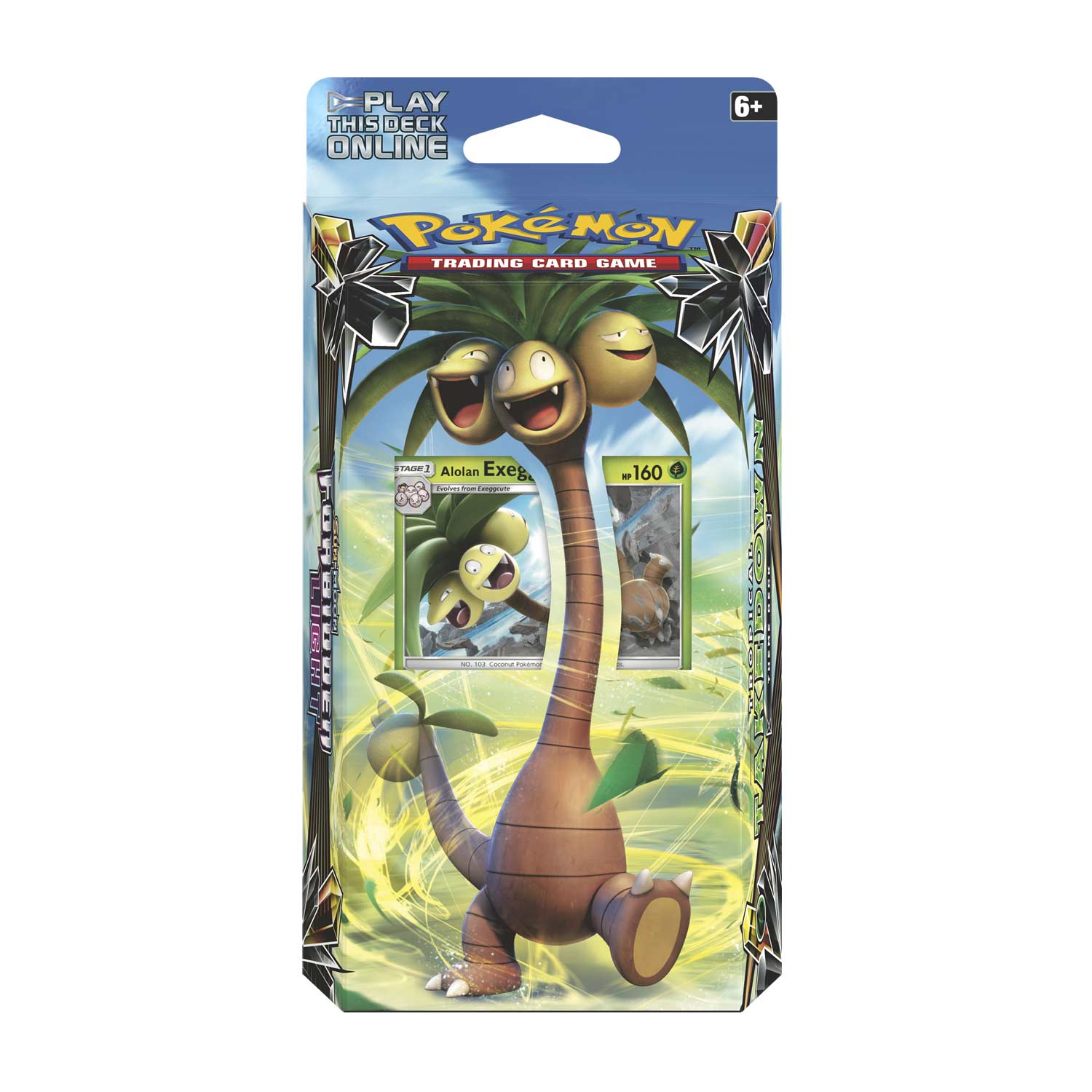 Pokémon TCG: Sun & Moon-Forbidden Light Tropical Takedown Theme Deck