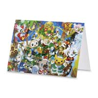 Image for Joyous Winter Tree Holiday Greeting Cards (12 Cards with Seals & Envelopes) from Pokémon Center