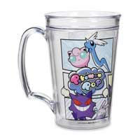 Image for Pokémon Pop 15 oz. Clear Thermal Mug from Pokemon Center