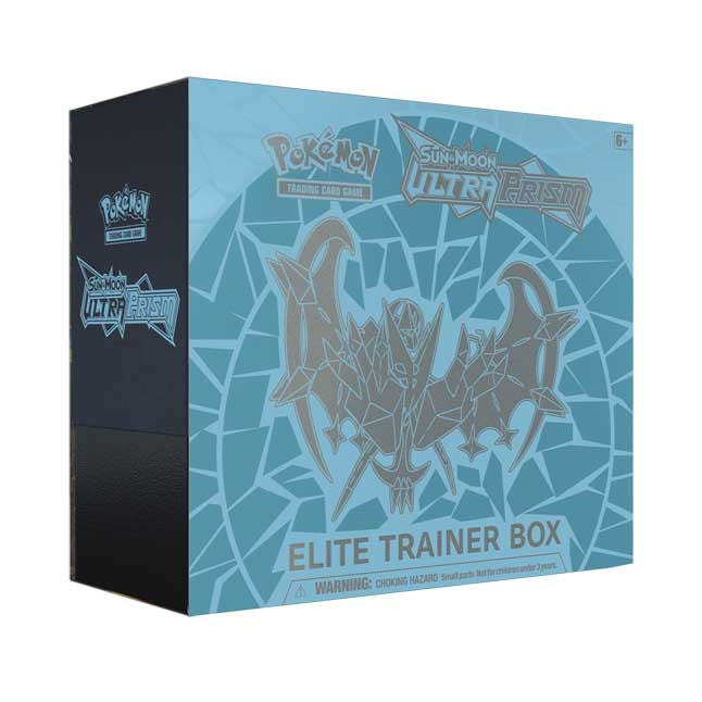 Image for Pokémon TCG: Sun & Moon-Ultra Prism Elite Trainer Box Featuring Dawn Wings Necrozma from Pokemon Center