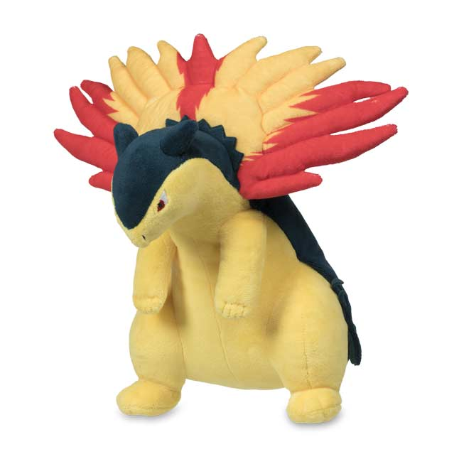 Image for Typhlosion Poké Plush - 9 1/2 In. from Pokemon Center