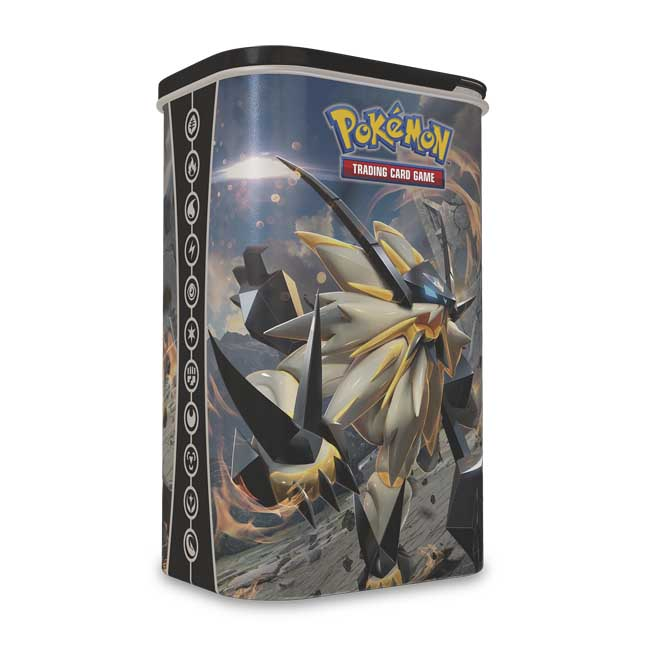 Image for Pokémon TCG: Dusk Mane Necrozma Deck Shield with 2 Booster Packs from Pokemon Center