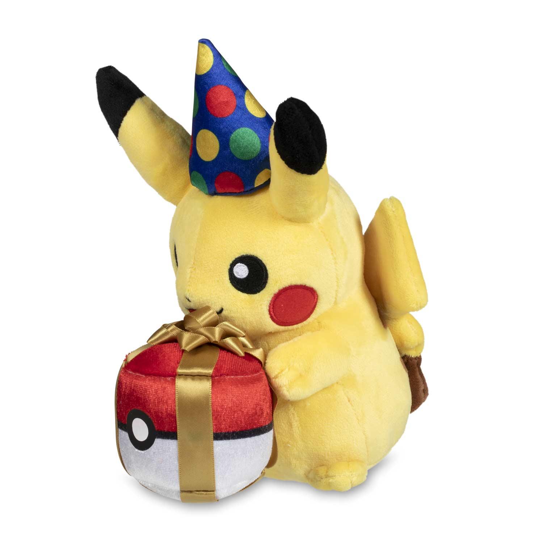 Birthday Pikachu Poke Plush 9 In Pokemon Center Official Site
