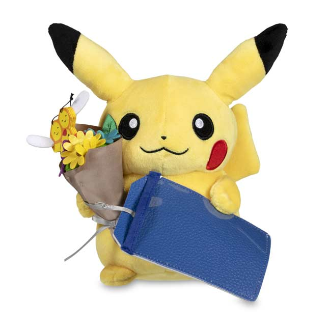 Image for Flower Bouquet Pikachu Poké Plush - 7 ¾ In. from Pokemon Center