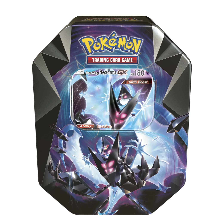 Pokemon Karten Gx Pikachu.Pokemon Tcg Necrozma Prism Tin With Dawn Wings Necrozma Gx