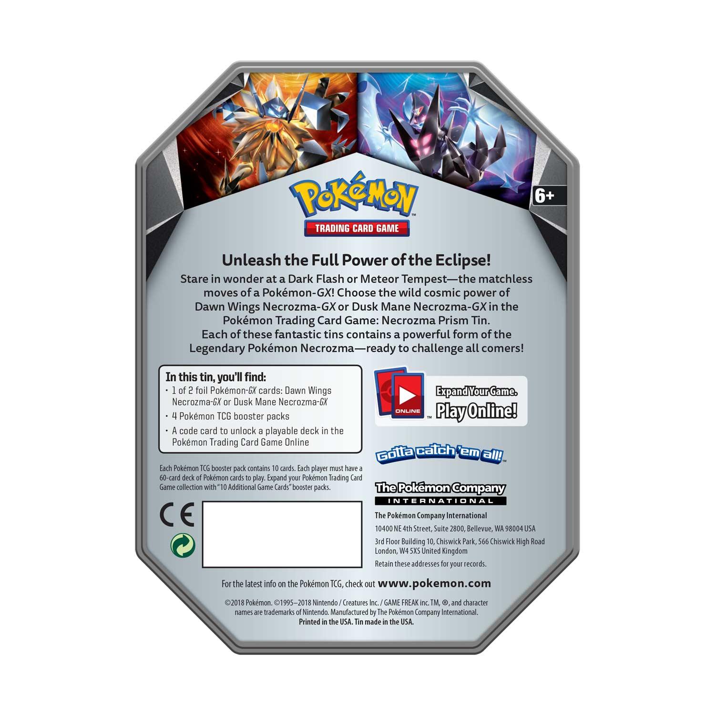 Pokémon TCG: Necrozma Prism Tin with Dawn Wings Necrozma-GX