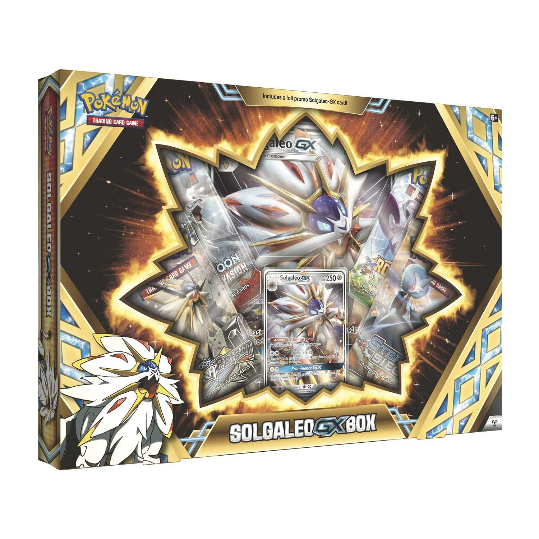 Pokémon Tcg Solgaleo Gx Box