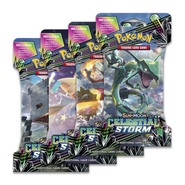 Pokémon TCG: Sun & Moon-Celestial Storm Sleeved Booster Pack (10 Cards)
