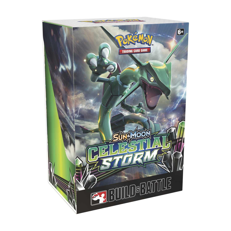 Pokémon TCG: Sun & Moon-Celestial Storm Build & Battle Box