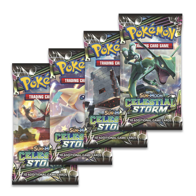 Prerelease Kit Build Battle Box Pokemon TCG Celestial Storm Elite Trainer Box
