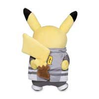 Image for Boss Costume Collection: Team Galactic Cyrus Costume Pikachu Poké Plush - 8 3/4 In. from Pokemon Center