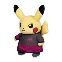 Image for Boss Costume Collection: Team Magma Maxie Costume Pikachu Plush - 9 In. from Pokémon Center