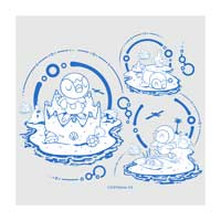 Image for Piplup Bubbly Beach 27 oz. Water Bottle from Pokemon Center