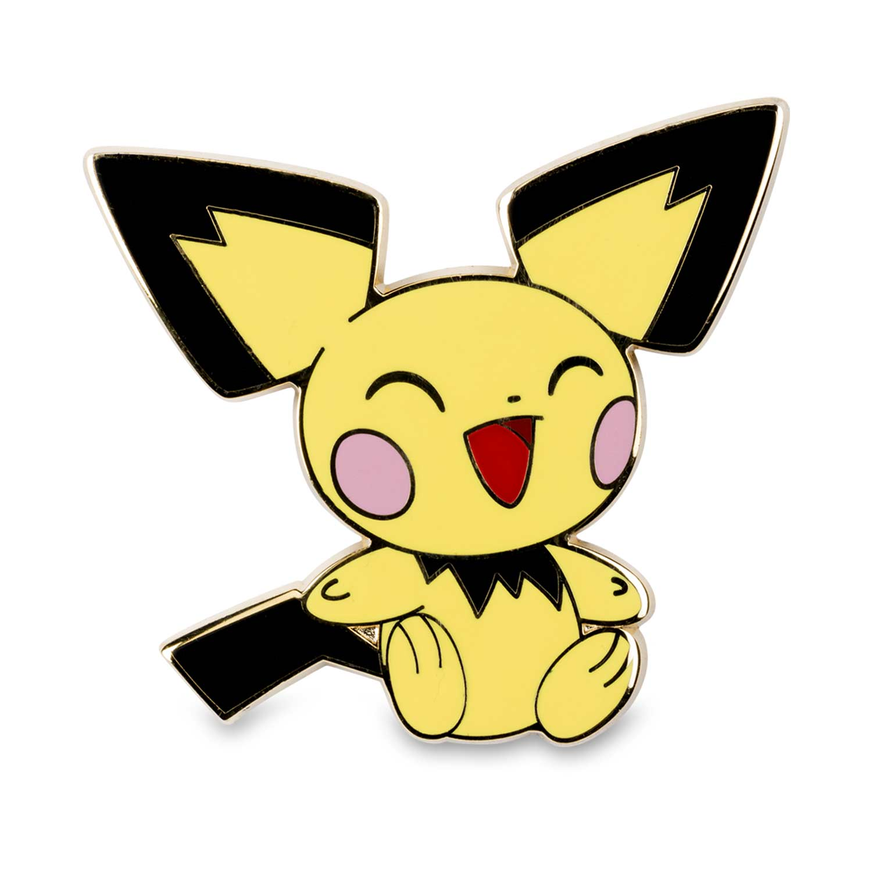 Pichu, Pikachu & Raichu Pokémon Pins (3-Pack)   Pokémon ...Pichu Pikachu Raichu