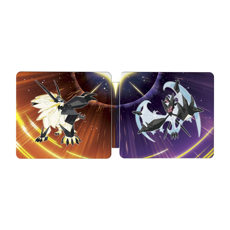 pokemon ultra moon steelbook edition 3ds