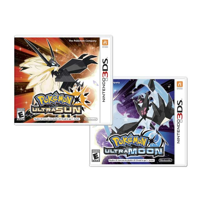 Image for Pokémon Ultra Sun & Pokémon Ultra Moon Veteran Trainer's Dual Pack from Pokemon Center