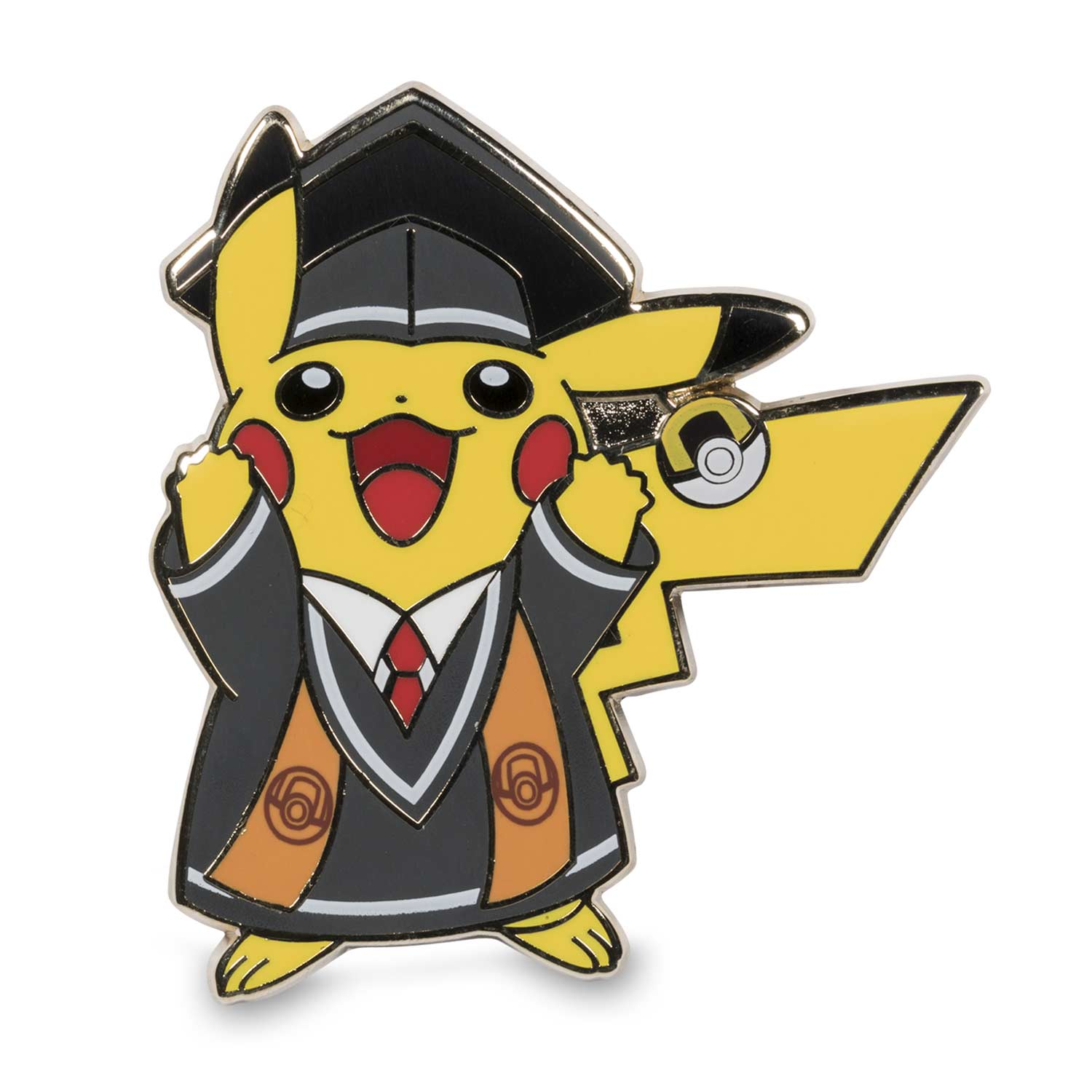 Graduation Pikachu Pokmon Pins 2 Pack With Greeting Card