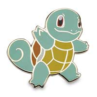 Image for Squirtle & Pikachu Pokémon Pins (2-Pack) from Pokémon Center