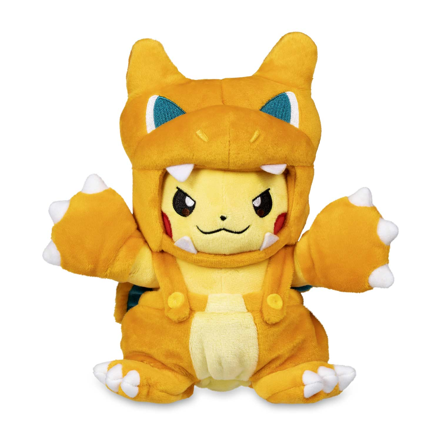 Charizard Poke Maniac Costume Pikachu Poke Plush 8 In Pokemon