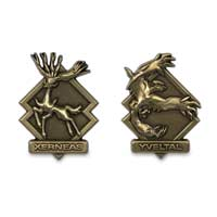 Xerneas & Yveltal Legendary Pokémon Pins (2-Pack)
