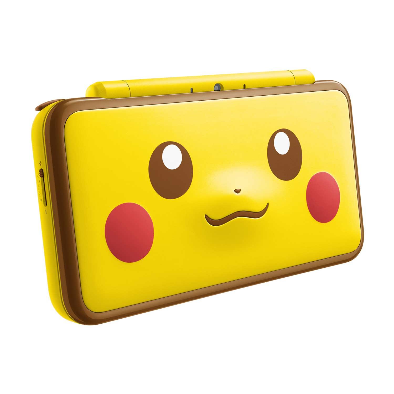 New nintendo 2ds xl pikachu edition pok mon center for Housse 2ds xl pokemon