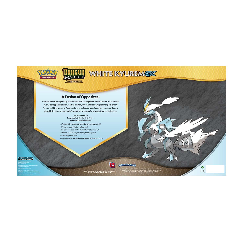 Pokémon TCG: Dragon Majesty Special Collection (White Kyurem-GX)