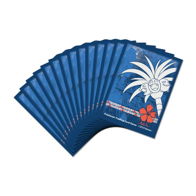 Image for Pokémon TCG: Alolan Exeggutor Card Sleeves (65 Sleeves) from Pokémon Center
