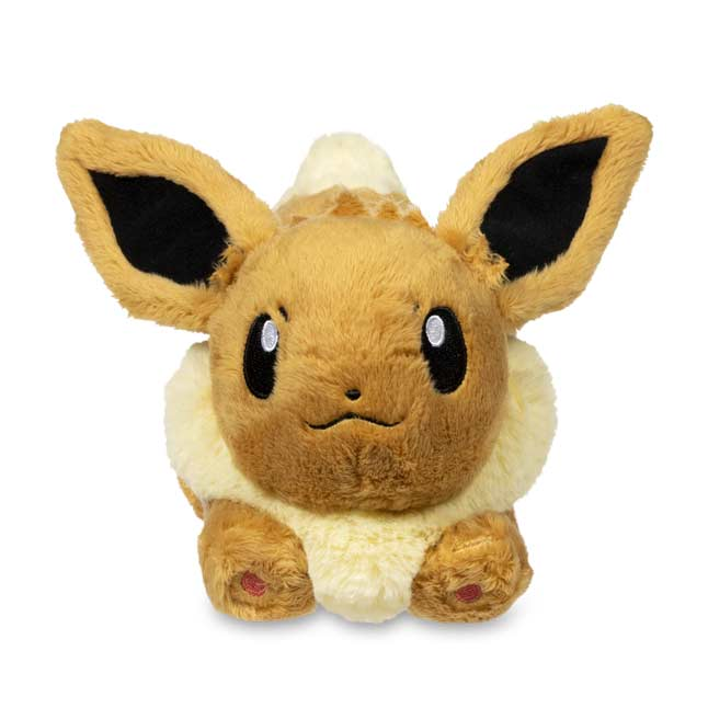 Image for Running Eevee Fluffy Plush - 10 In. from Pokémon Center