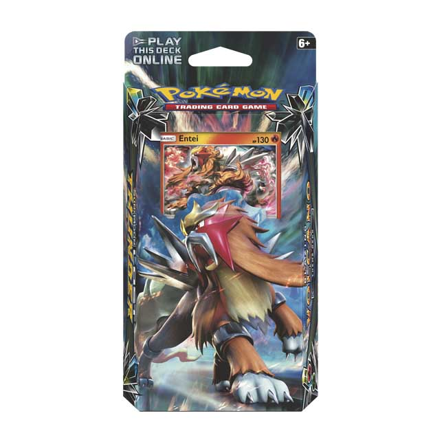 Image for Pokémon TCG: Sun & Moon-Lost Thunder Blazing Volcano Theme Deck from Pokemon Center