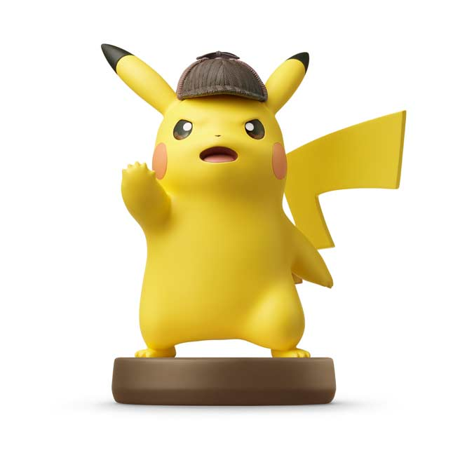 Image for Detective Pikachu amiibo Figure from Pokémon Center