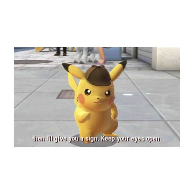 Detective Pikachu Video Game Rated E for Everyone Comic Mischief Mild Cartoon Violence