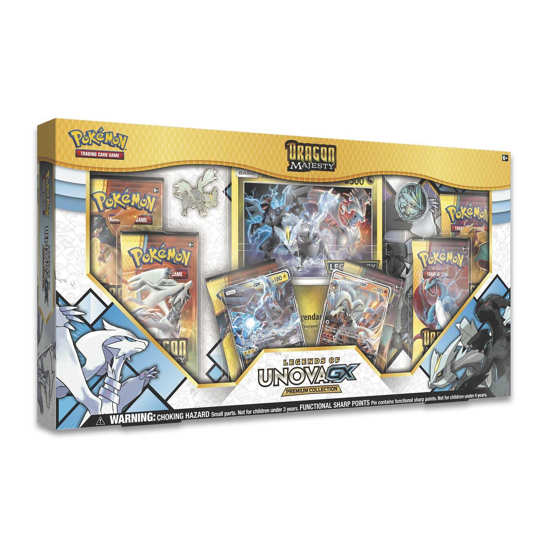 Official Pokemon TCG Dragon Majesty Legends of Unova GX Premium Collection