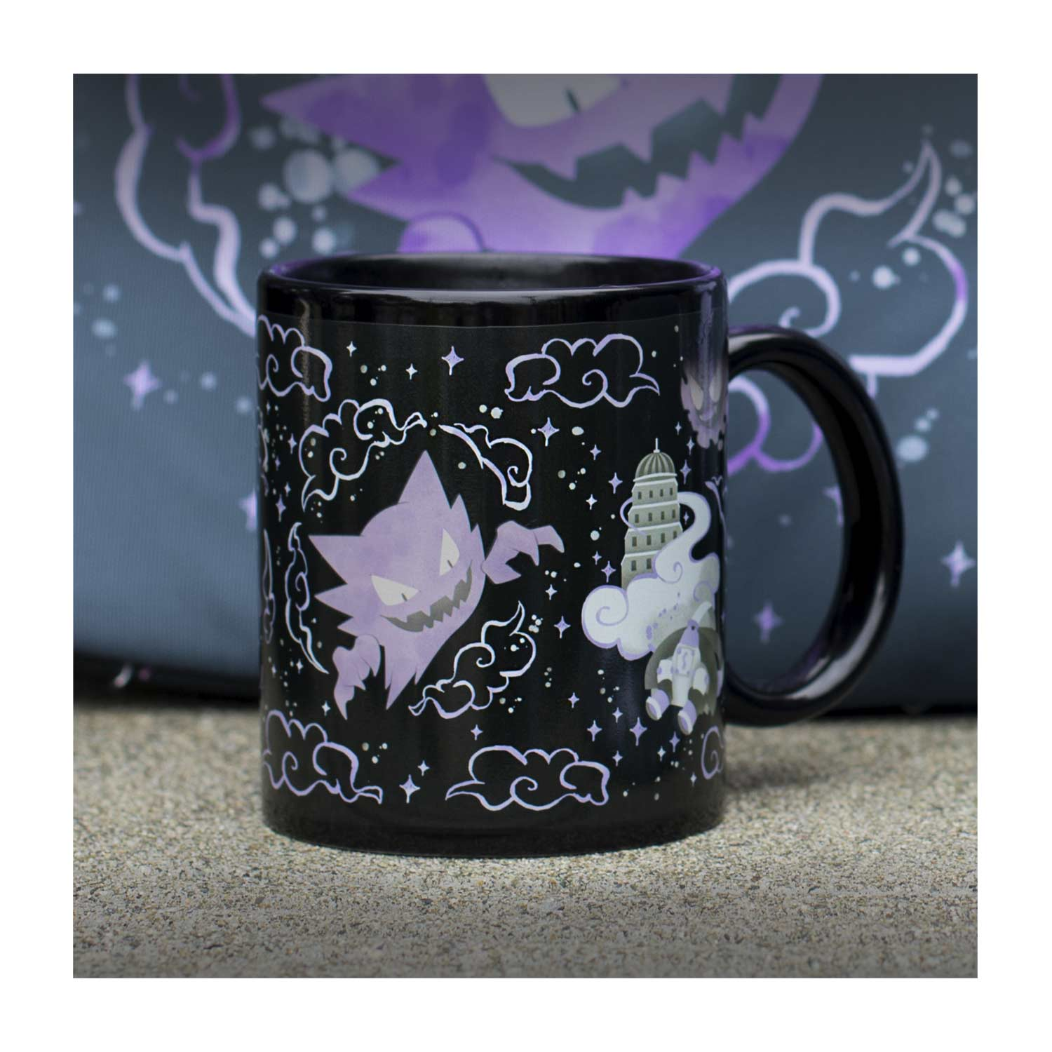 f95e5fac Image for Lavender Town 11 oz. Color Changing Mug from Pokemon Center
