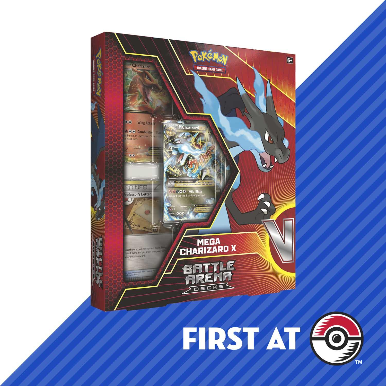 Pokemon Tcg Battle Arena Deck Mega Charizard X Pokemon Center