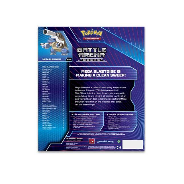 Pokémon TCG: Battle Arena Deck-Mega Blastoise