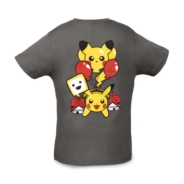Image for Exploring with Pikachu Relaxed Fit Crew Neck T-Shirt - Youth from Pokemon Center