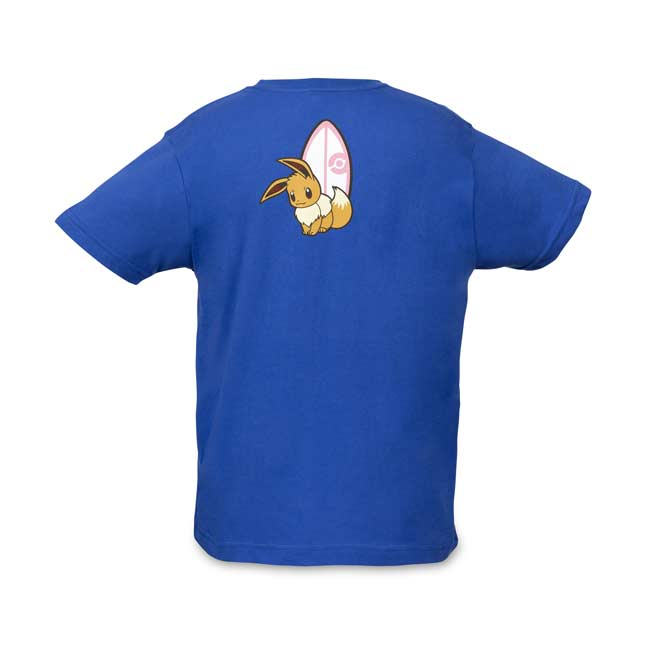 Image for Exploring with Eevee Relaxed Fit Crew Neck T-Shirt - Youth from Pokemon Center