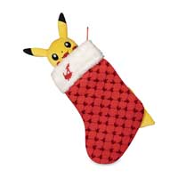 Image for Pikachu Holiday Plush Stocking from Pokemon Center