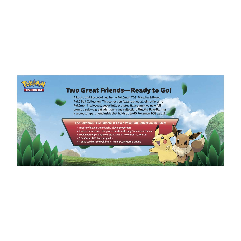 Pokemon Tcg Pikachu Eevee Poke Ball Collection Pokemon Center