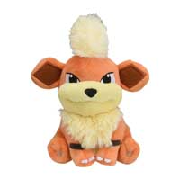 Image for Growlithe Sitting Cuties Plush - 5 ¼ In. from Pokémon Center