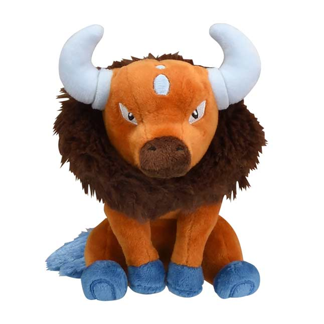 Image for Tauros Sitting Cuties Plush - 5 ¾ In. from Pokémon Center